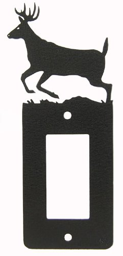 Deer GFI Rocker Light Switch Plate Cover