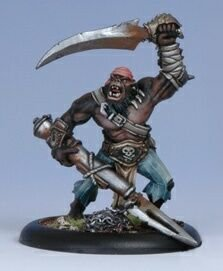Privateer Press - Warmachine - Cryx: Black Ogrun Boarding Party Model Kit - 1