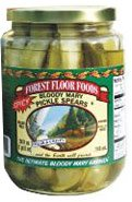 Forest Floor Foods Spicy Bloody Mary Pickle Spears