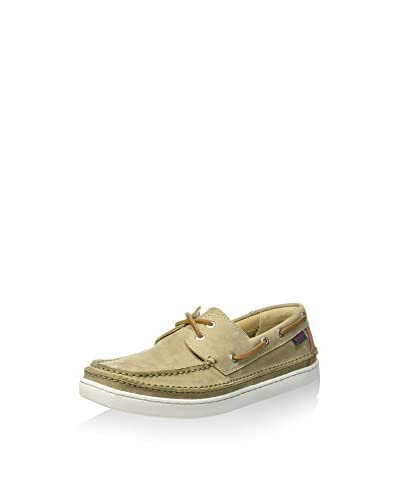 Sebago Mocassino Vela Ryde Two Eye Tan/Tan  [Sabbia]