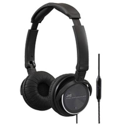 Black Lightweight Headphone