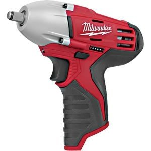 Milwaukee Electric Tool - 2451-20 - Cordless Impact Wrench, 6-1/2 In. L, 2 Lb.