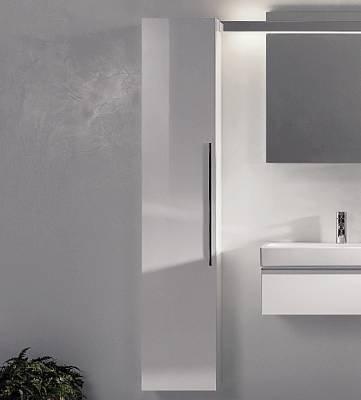 badm bel test keramag icon hochschrank alpin hochglanz. Black Bedroom Furniture Sets. Home Design Ideas