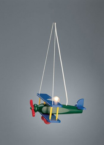 Airplane Design Children's Bedroom Light