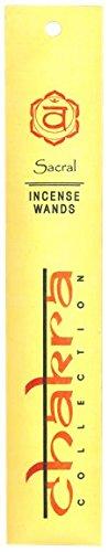 Encens Chakra Collection Chakra sacré (10 bâtonnets)