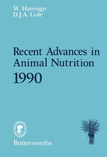 Recent Advances In Animal Nutrition 1990