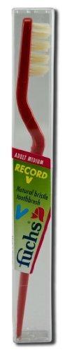 fuchs-record-v-toothbrush-medium-pack-of-10-by-fuchs
