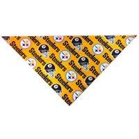 Pittsburgh Steelers Dog Bandana (Large: fits neck 14-20 Inches)