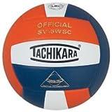 Tachikara Composite Volleyball - Sensi-Tec SV-5WSC, Colored Color: Orange/white/navy