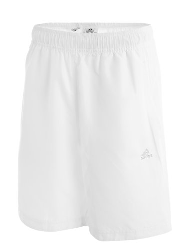 Adidas Mens White Essex Tennis Shorts -E80419