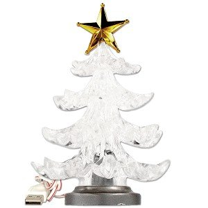 #!Cheap USB Powered Miniature Christmas Tree w/Multicolor LEDs