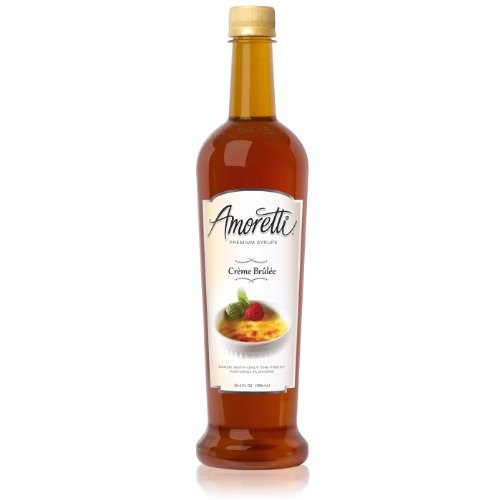 Amoretti Premium Syrup, Cr?me Brulee, 25.4 Ounce