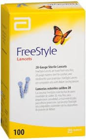 Freestyle Lancets 100 Ct