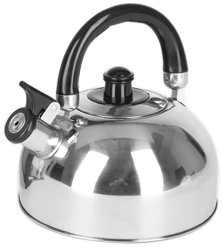 camping whistling tea kettle