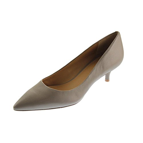Nine West Women'S Illumie Pump,Taupe Leather,8 M Us
