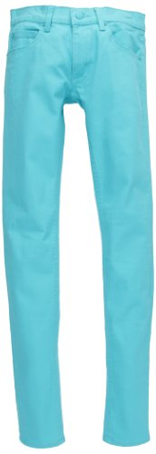 Cheap Monday Zip Low, Jeans Donna, Turchese (Riviera Turquoise), 46/48 IT (33W/34L)