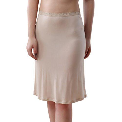 Baymate-Underwear-Damen-Mini-Unterrock-Jupon-Frauen-Unterkleid-ber-das-Knie
