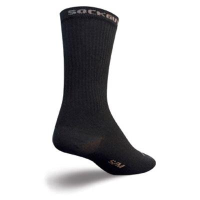 Buy Low Price SockGuy Crew 6in SG II Black Cycling/Running Socks (B007SHLJR6)