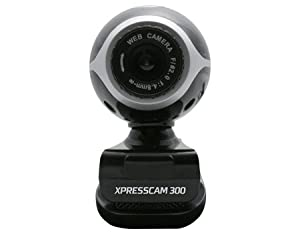 NGS Xpress Cam-300 Webcam with 300K CMOS Sensor and Built-in Microphone USB2.0 305790