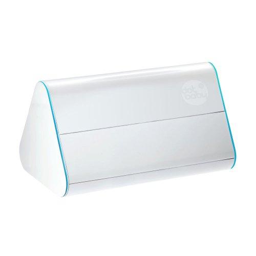 DotBaby - Contenitore / dispenser per salviette e articoli per l'igiene del bambino, colore: Blu