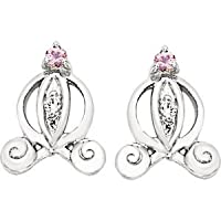 Disney Princess Earrings Sterling Silver By Helios