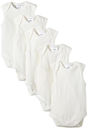 Twins - 101950, Body per bimbi, bianco (off white), 4 anni, confezione da 5