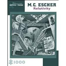 Picture of Pomegranate Art Piece M.C. Escher Relativity 1000 pc. Puzzle (B005PIRITS) (Brain Teasers)