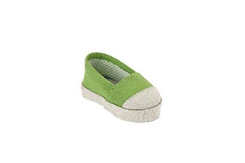 Käthe Kruse 33384 - Espadrillas, colore: Verde