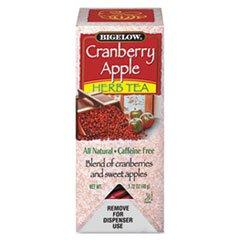 * Cranberry Apple Herbal Tea, 28/Box *