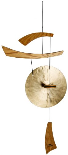 Oriental Furniture Asian and Feng Shui Gifts 34-Inch Japanese Zen Emperor s Oriental Brass Gong ChimesB0000779JK