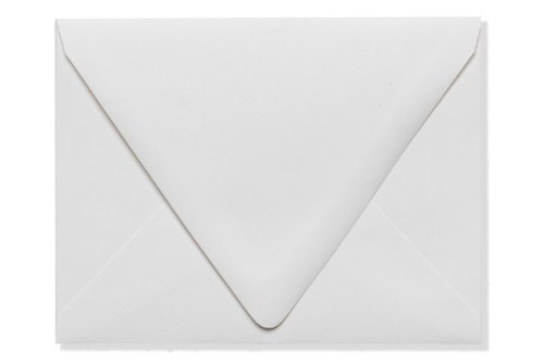 A2 Contour Flap Envelopes (4 3/8 x 5 3/4) - White - 100% Recycled (500 Qty.) brand new universal one 100% recycled copy paper 92 brightness 20lb 8 1 2 x 11 white 5000 shts ctn