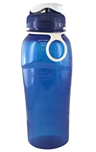 Rubbermaid Beverage Bottle Blue, Green And Red 32 Oz