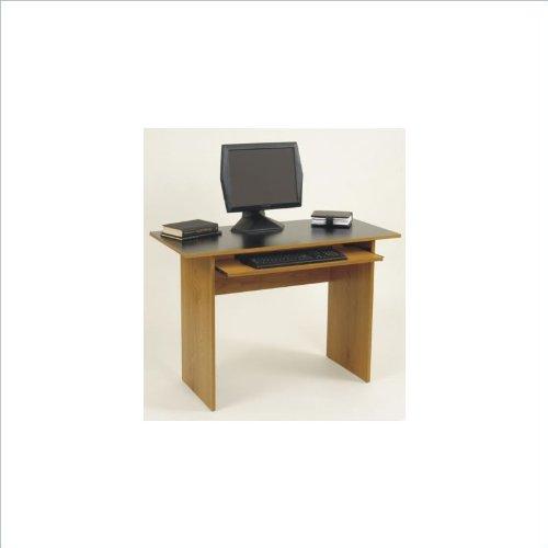buy low price comfortable computer desk elmira oak by ameriwood furniture b002vjqv3s