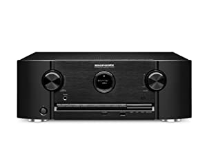 Marantz SR6008 7.2-Channel 1080P and 4K Ultra HD Pass Through, Networking Home Theater Receiver with AirPlay (Black) from Marantz