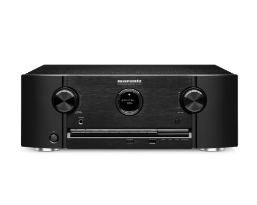 Marantz SR6008 7.2-Channel 1080P and 4K Ultra HD Pass Through, Networking Home Theater Receiver with AirPlay (Black)