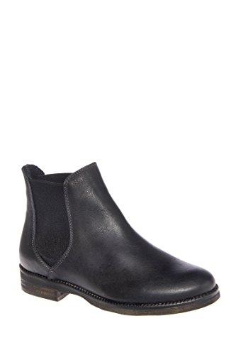 Khadi Low Heel Boot