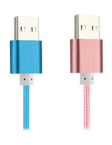 Kindle USB Cable [2 pack] Kindle PowerLine iBarbe 5ft Speed USB 2.0 Power wire cord Cables for Kindle Oasis kindle3 kindle4 kindle5 kindle touch All Kindle and Kindle Fire (On A Kindle Fire Ca compare prices)