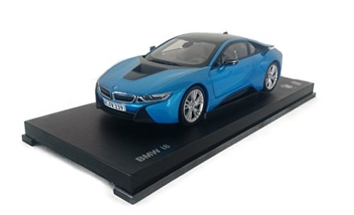 Bmw 4052176602782 I8 Metallic Blue Model Car Ready Made I Paragon
