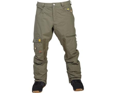 Analog Ag Anarchy Pant - Color:Moss Green - Talla:M - 2014