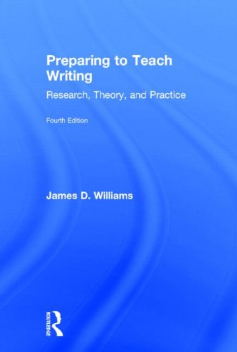 Preparing to Teach Writing: Research, Theory, and Practice 31IVxJ3SDNL