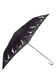 M&S Collection Crook Handle Reflective Umbrella
