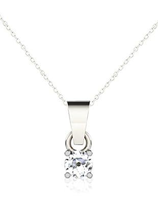 Friendly Diamonds Conjunto de cadena y colgante FDP6254W Oro Blanco