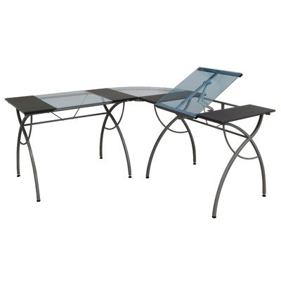 Studio Designs Catalina Split Top LS Workcenter in Pewter 10080