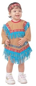 Infant Toddler Native American Indian Girl Costume