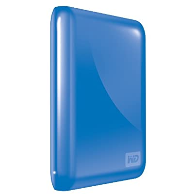 WD My Passport Essential 500 GB USB 3.0/2.0 Portable External Hard Drive (Pacific Blue)