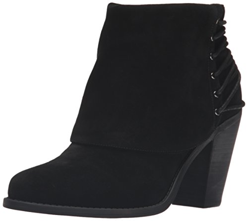 Jessica Simpson Womens Calvey Ankle Bootie, Black, 8 M US