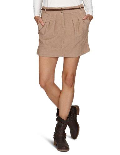 LTB Jeans Damen Rock (mini), 1002 / Polita, Gr. 40 (L), Beige (camel 703)