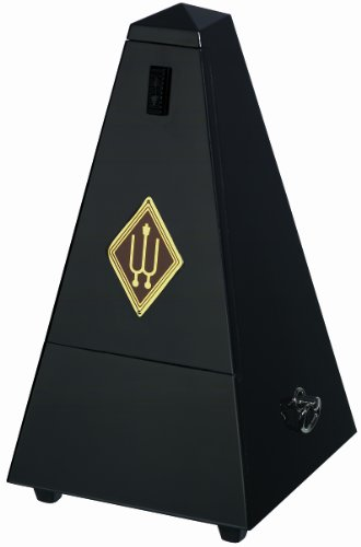 Wittner Traditional Maelzel Pyramid Metronome Wooden Case with Bell and