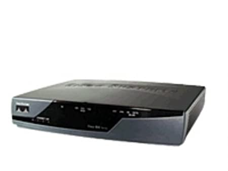 Cisco 851 ethernet soho security router