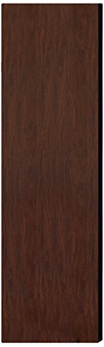 Salsbury Industries 33343Mah Double End Side Panel For 18-Inch Deep Designer Wood Locker Without Sloping Hood, Mahogany Brown front-459807